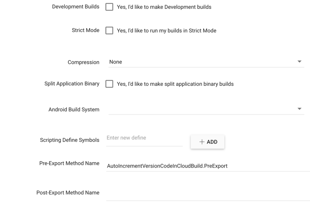 Automatically Set iOS Build Number And Android Version Code In Unity Cloud Build